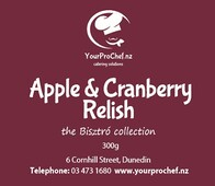 Apple & Cranberry Relish