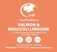 Salmon & Broccoli Linguine