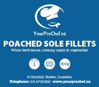 Poached Sole Fillets